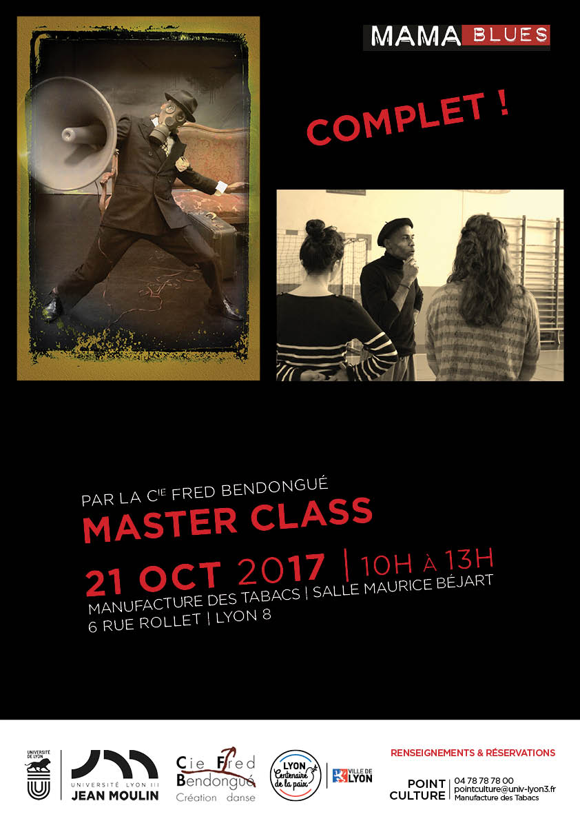 Affiche Master Class MAMABLUES