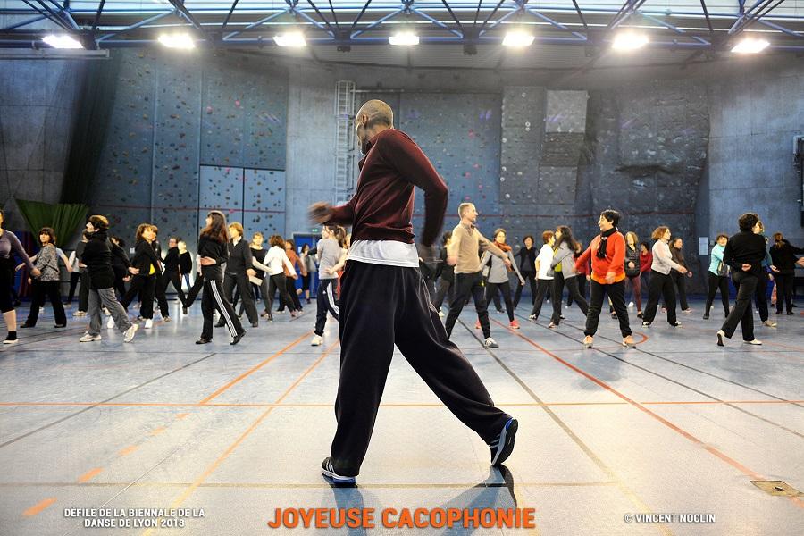 Défilé de la biennale de la danse de Lyon 2018