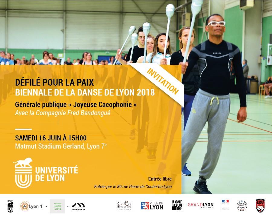 Invitation 16juin Générale Joyeuse Cacophonie