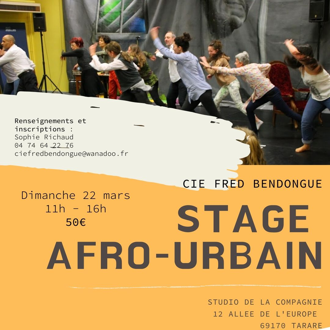STAGE AFRO MARS 2020