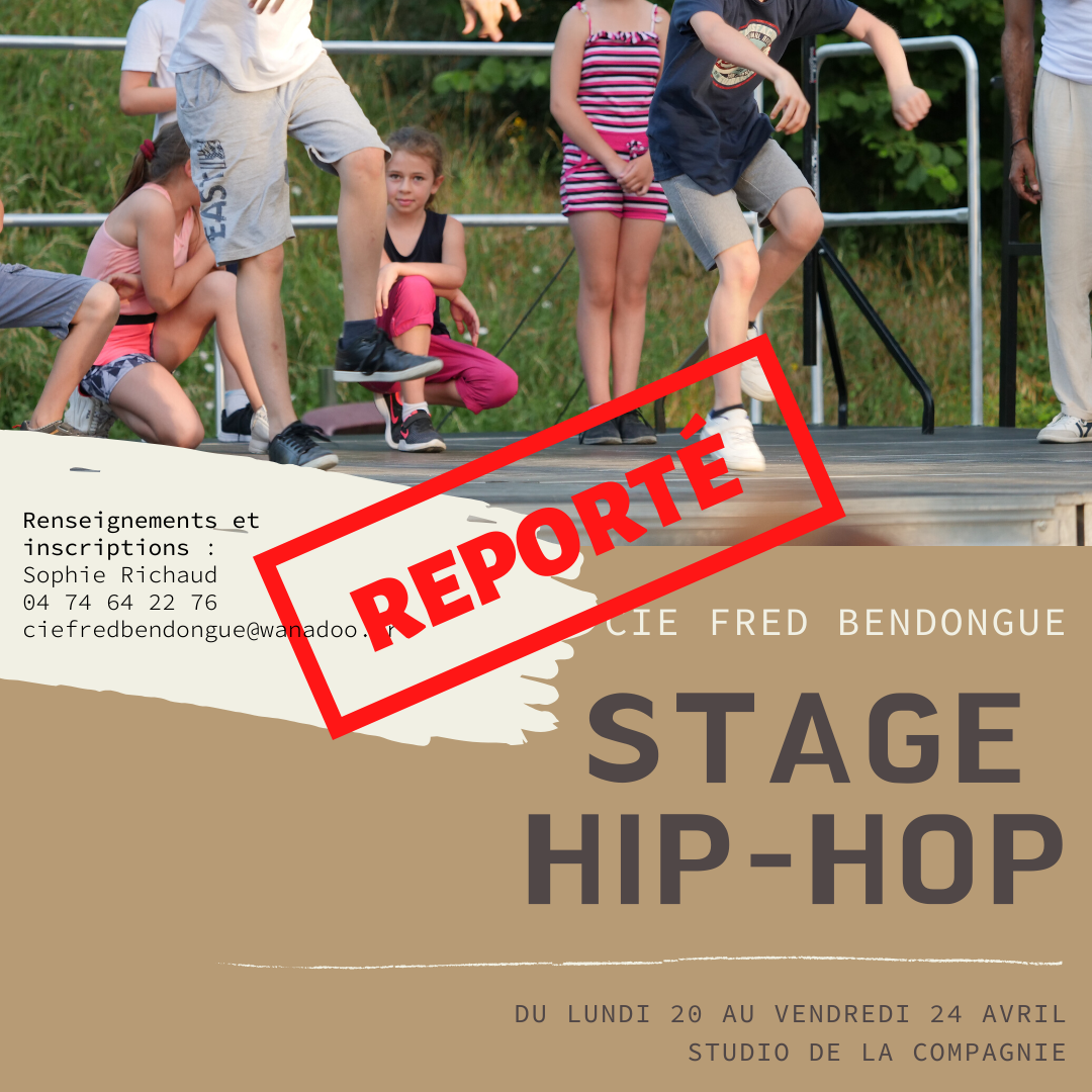 STAGE HIP-HOP avril REPORT